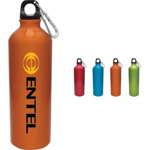 Orange - Aluminum Water Bottle, 25 Oz Photo