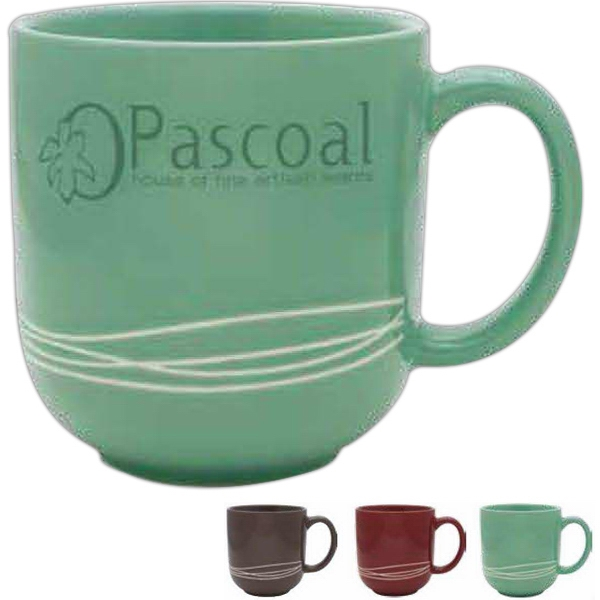 Mint Green - Large 17 Oz Capacity Ceramic Mug Photo