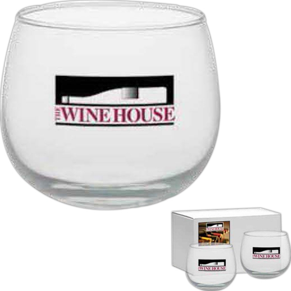 Stemless Wine Glass, 13 Oz Photo