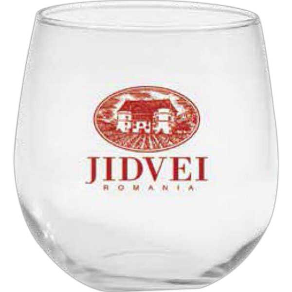 Stemless Red Wine Glass, 16.75 Oz Photo