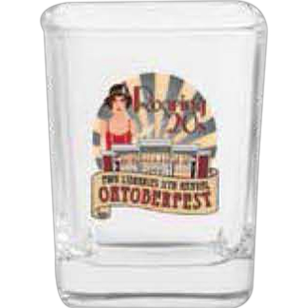 Square Design Shot Glass 2.25 Oz Photo