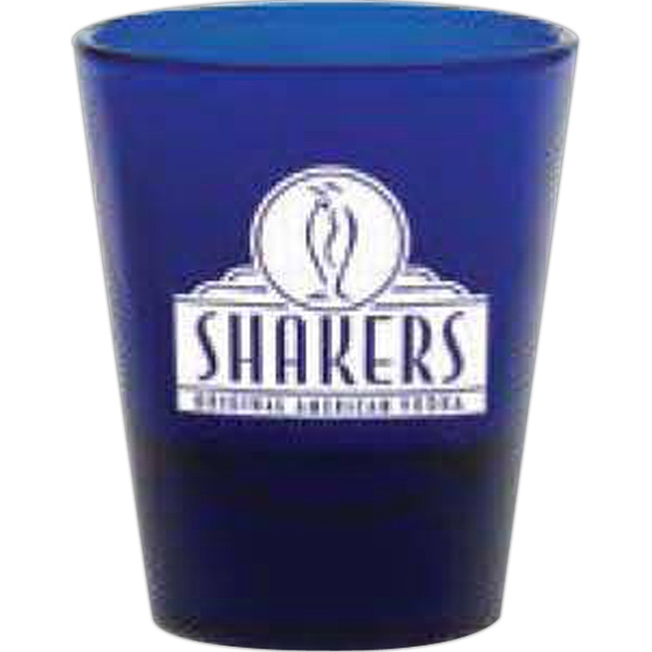 Blue 1.75 Oz Shot Glass Photo