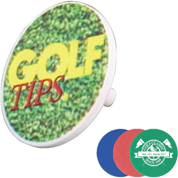 Economical Plastic Ball Marker, Full Color Digital Photo