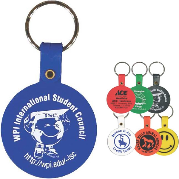 Circle - Shaped Key Tag Photo