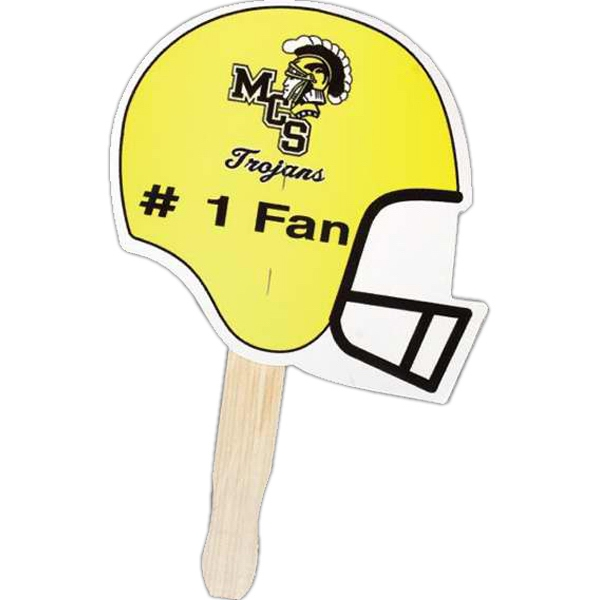 Football - Stock Shaped Hand Fan, 16 Point Board Photo