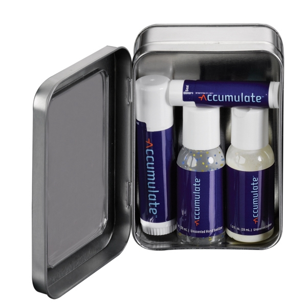 Business Gift Set in Frosted Pouch