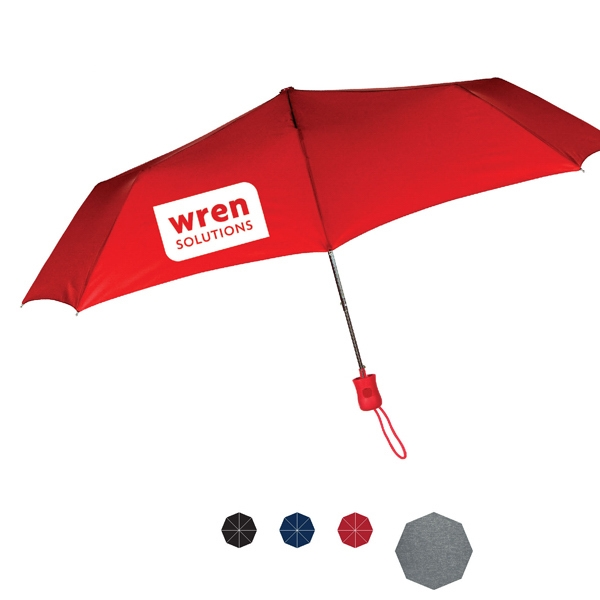 "Fashion Como Automatic Open Umbrella With Steel Frame And Polyester Fabric; 43"" Arc Photo"