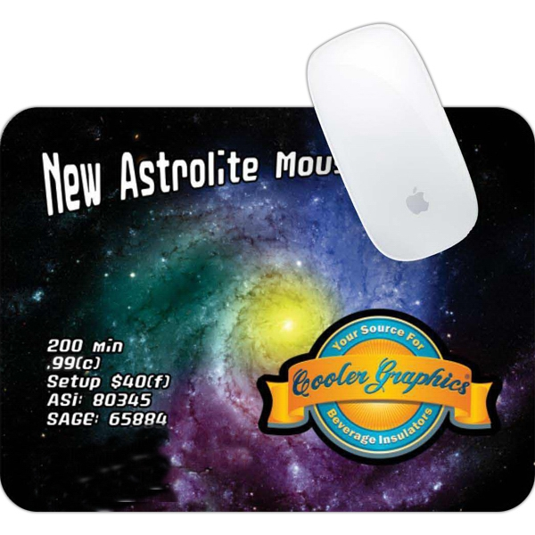 "Astrolite - Foldable Mousepad With An Extra Light! 7"" X 9 3/8"" W X 4 Mm Photo"