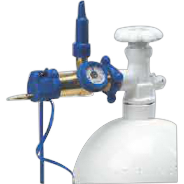Vertical Flex Tilt Helium Inflation Regulator With Gauge And Hook Photo