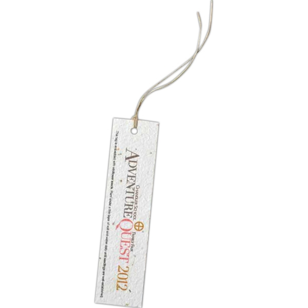 Tall Seed Paper Product Tag