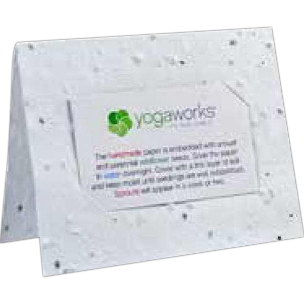 Seed Paper Business Card Holder