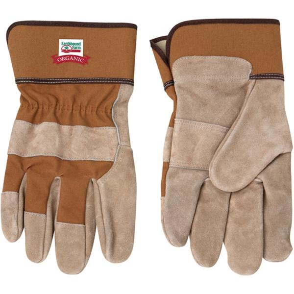 Tan Cow Split Safety Glove