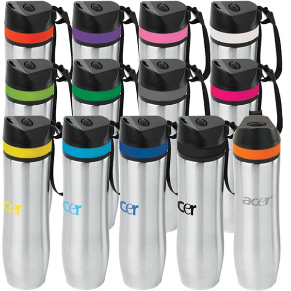 20 oz. Persona™ Stainless Steel Vacuum  Water Bottle