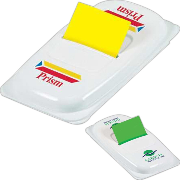 "Post-it (r) Brand - Flag Designer 2 Dispenser With 50 1"" Flags, 2 Color Imprint Photo"