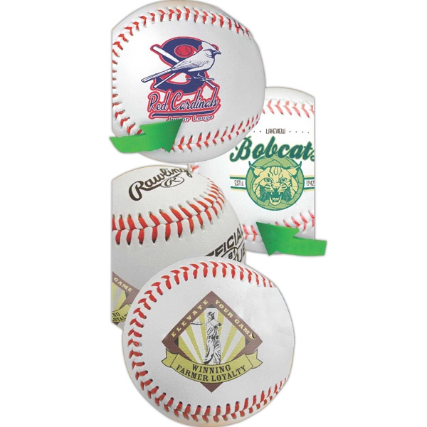 Synthetic Leather Rubber Core Baseball Photo