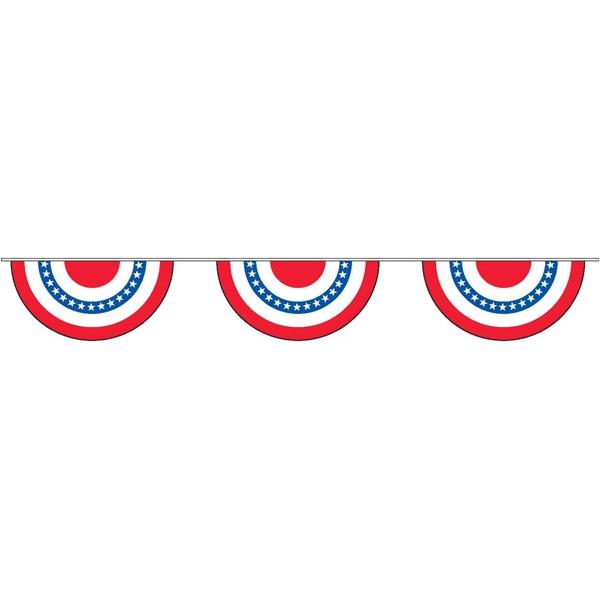 30' Patriotic Fan Dangles