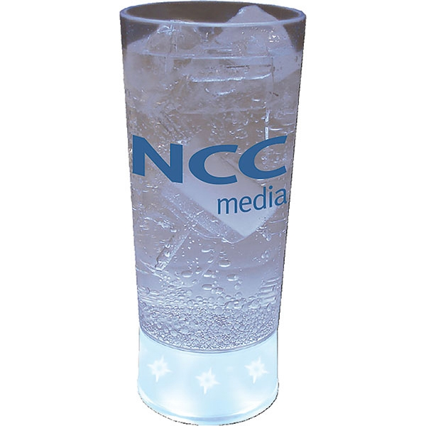 5-light 10 Oz Cup Made Of Clear Styrene/frosted Base Photo