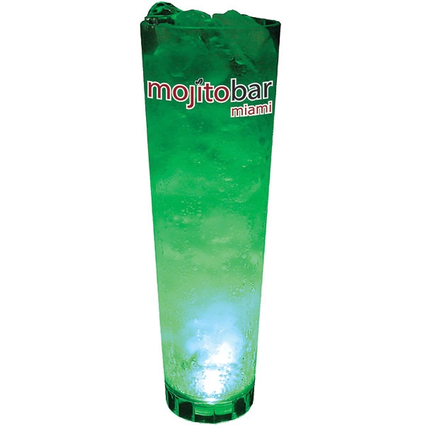 Single Light 32 Oz. Clear Styrene Cup Photo