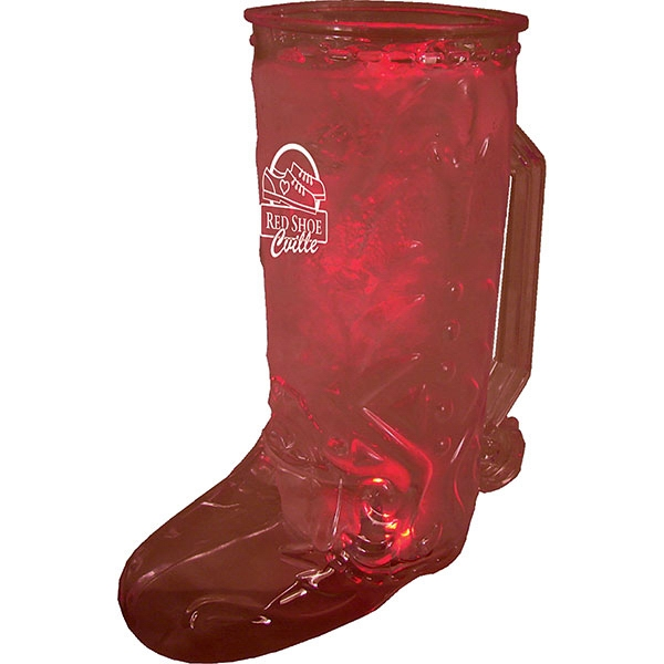 Lighted Boot Shape Mug, 20 Oz Photo