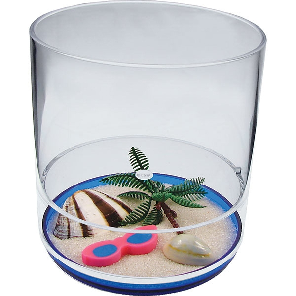 Life's A Beach - 12 Oz Compartment Tumbler, Beach Theme Photo