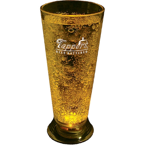 Single Light 5 Oz Clear Styrene Pilsner Photo