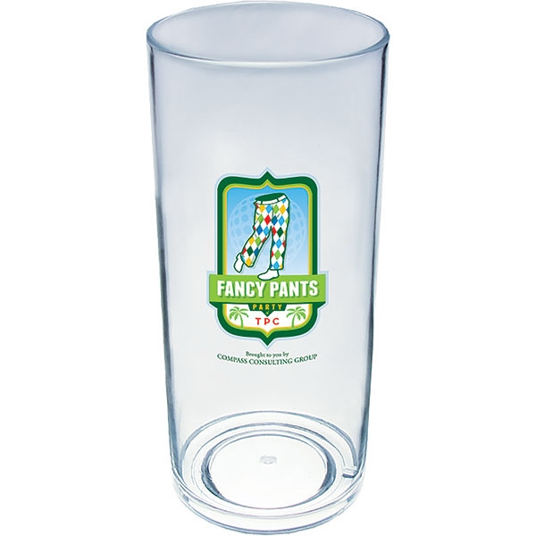 "14 Oz Cup Made Of Clear Styrene, 2.65"" X 6.45"" Photo"