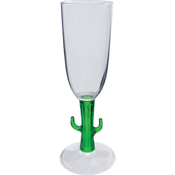 Cactus - Novelty Stem 7 Oz Champagne Glass Photo