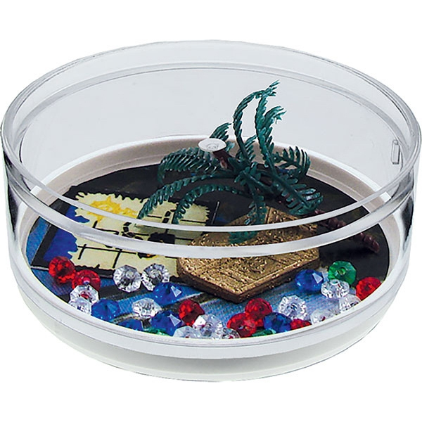 Pirate Punch - Compartment Coaster Caddy, Beach Theme Photo