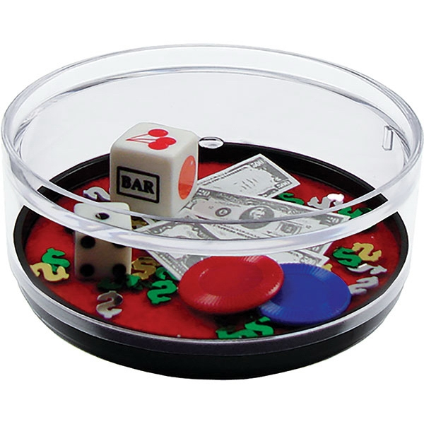 Las Vegas - Compartment Coaster Caddy, Casino Theme Photo