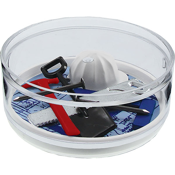 Hammer Time - Compartment Coaster Caddy, Careers Theme Photo