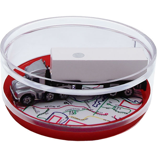 Semi-full - Compartment Coaster Caddy, Travel Theme Photo
