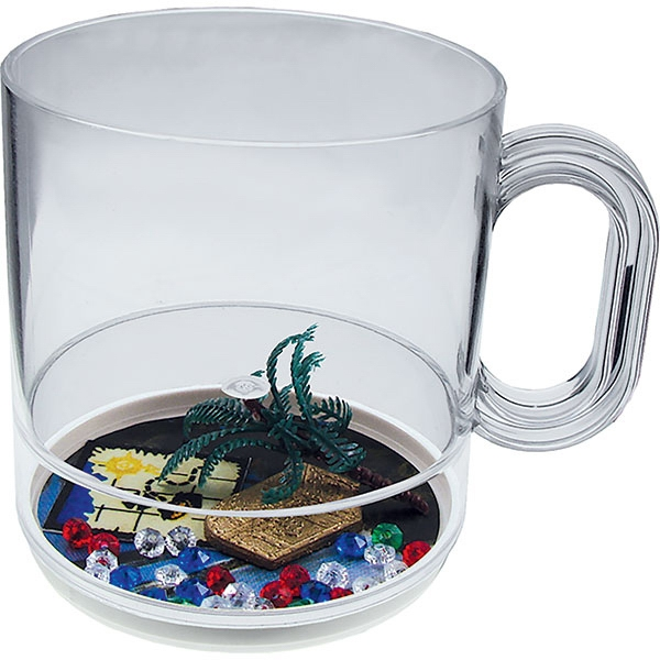 Pirate Punch - 12 Oz Compartment Coffee Mug, Beach Theme Photo