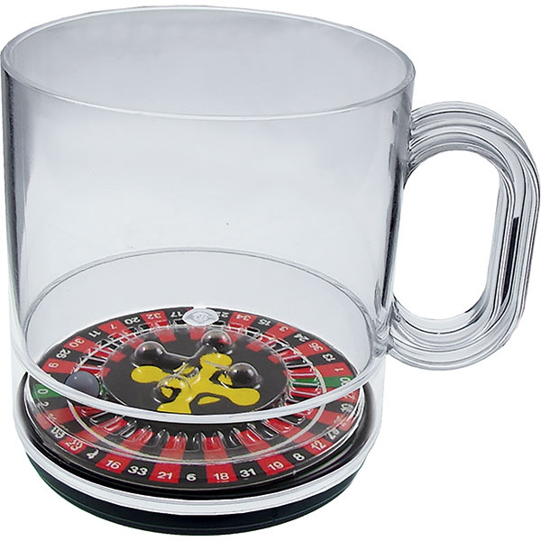 Roulette - 12 Oz Compartment Coffee Mug, Casino Theme Photo