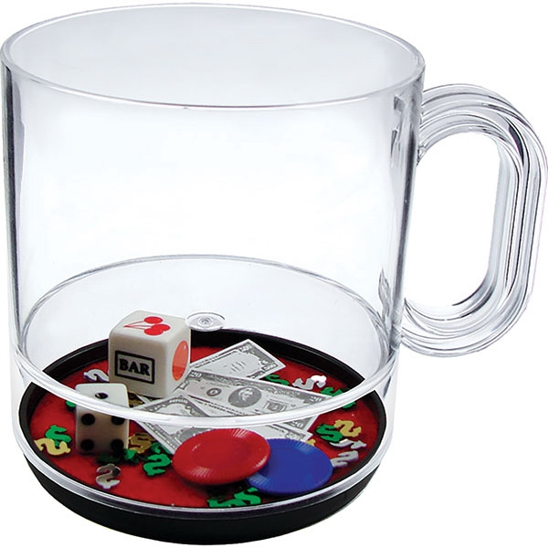 Las Vegas - 12 Oz Compartment Coffee Mug, Casino Theme Photo