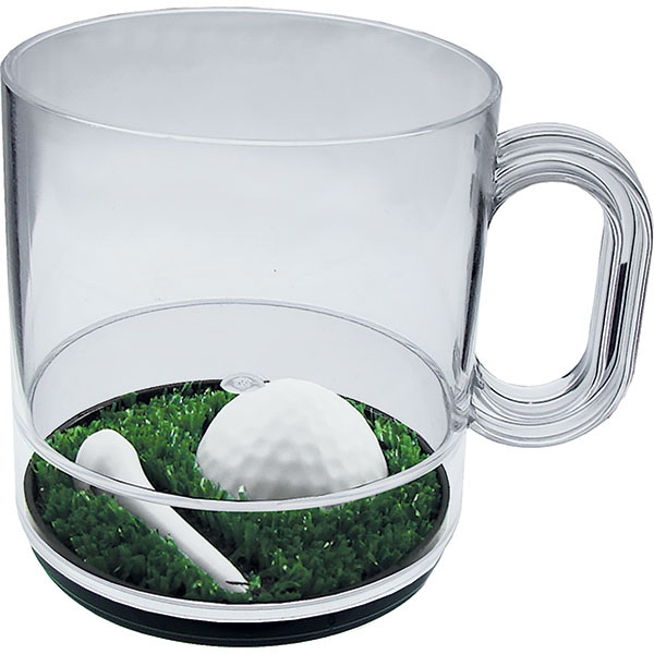Tee It Up - 12 Oz Compartment Coffee Mug, Sports Theme Photo