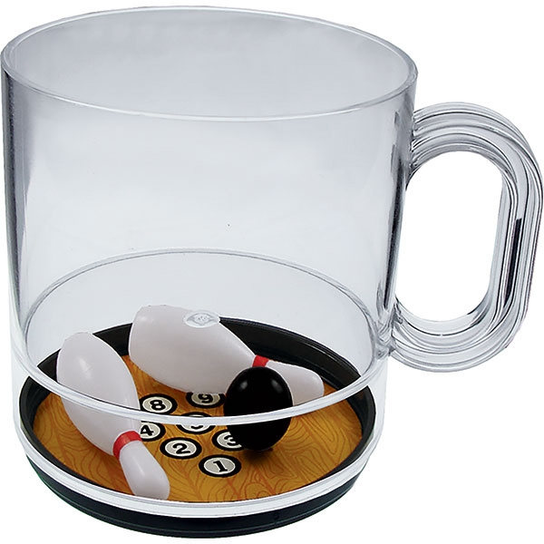 Pick It Up - 12 Oz Compartment Coffee Mug, Sports Theme Photo