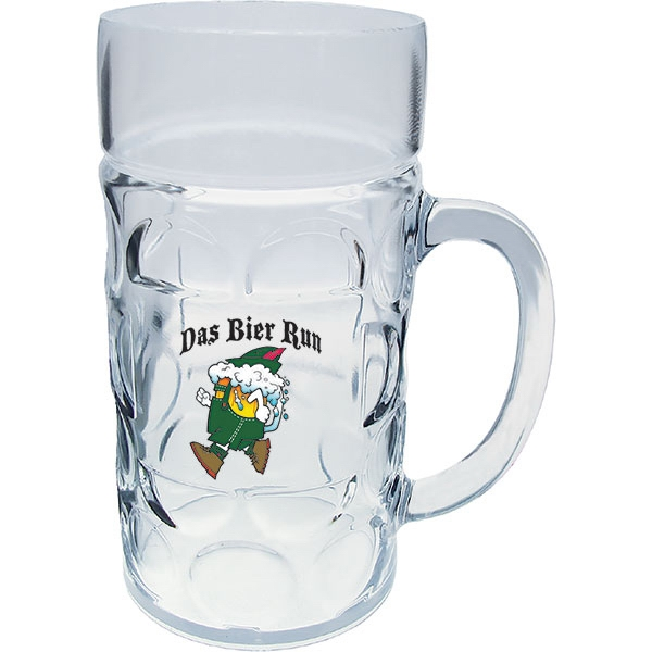 "1 Liter German Beer Mug, 5.5"" X 7.75"" Photo"