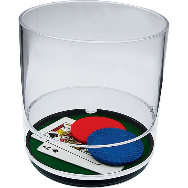 Blackjack - 12 Oz Compartment Tumbler, Casino Theme Photo