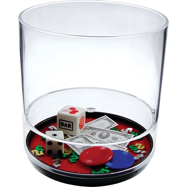 Las Vegas - 12 Oz Compartment Tumbler, Casino Theme Photo