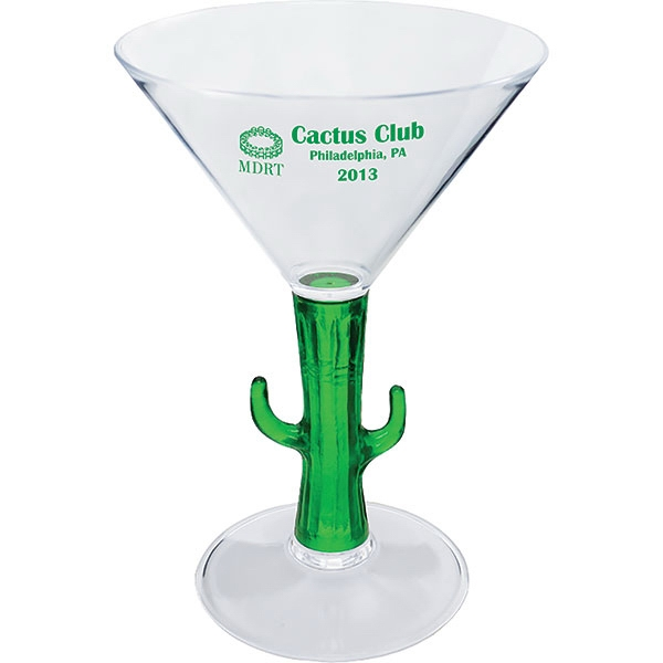"Fish - Novelty Items 7 Oz Martini Glass, 4.125""w X 6""h Photo"