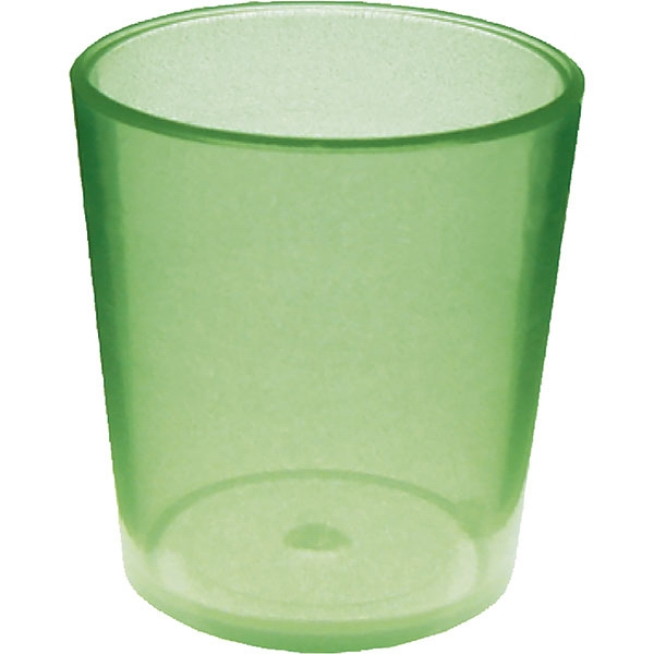 "Glow In The Dark Shot Glass Made Of Styrene, 1.875"" X 2"". 2 Oz Photo"