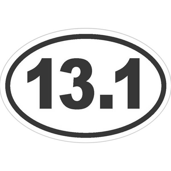 24 Hour FasTurn® Oval Bumper Stickers
