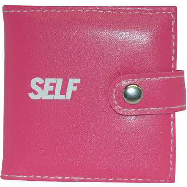 Duo Mirror In Embossed Leatherette Case With Snap Closures Photo