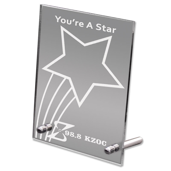 Acrylic Promotional Desk Mirrors