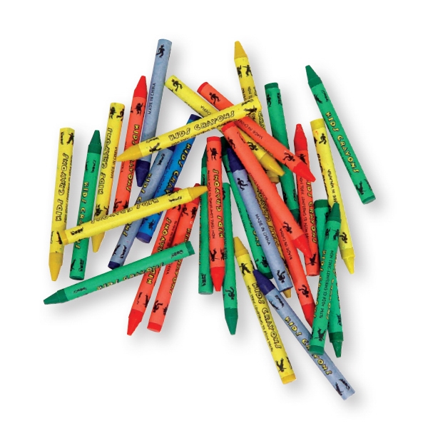 4,800 Blank Bulk Crayons