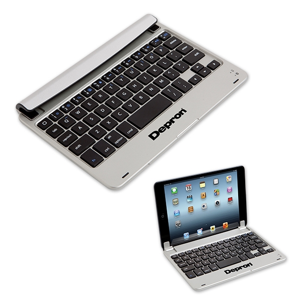 "7"" Universal Tablet Hard Case with Bluetooth keyboard"
