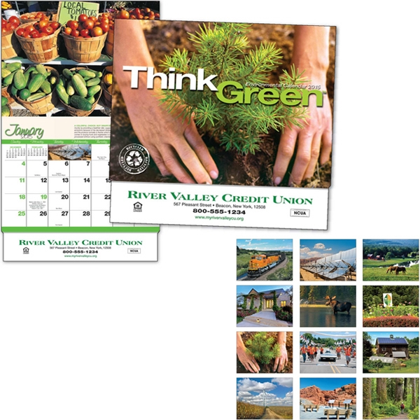 Think Green (tm) - Thirteen Month Appointment Calendar With Photos And Tips Photo