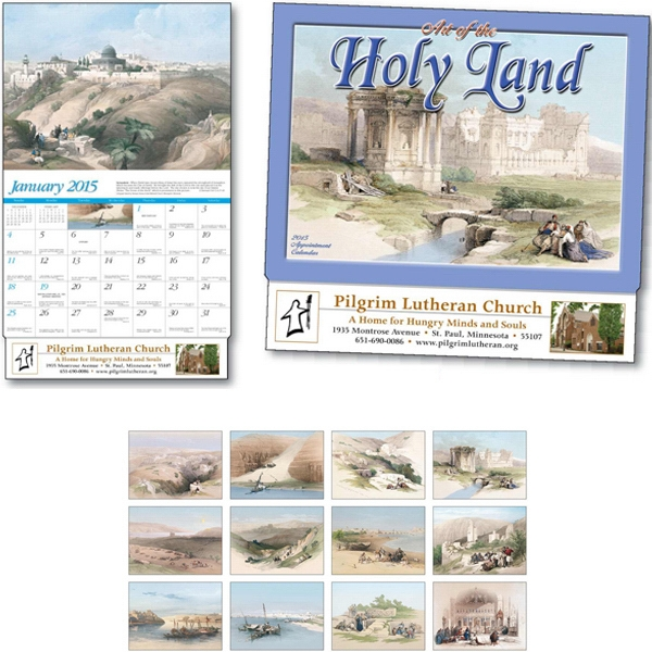 Art Of The Holy Land - Thirteen Month Appointment Calendar With Historically Accurate Lithographs Photo