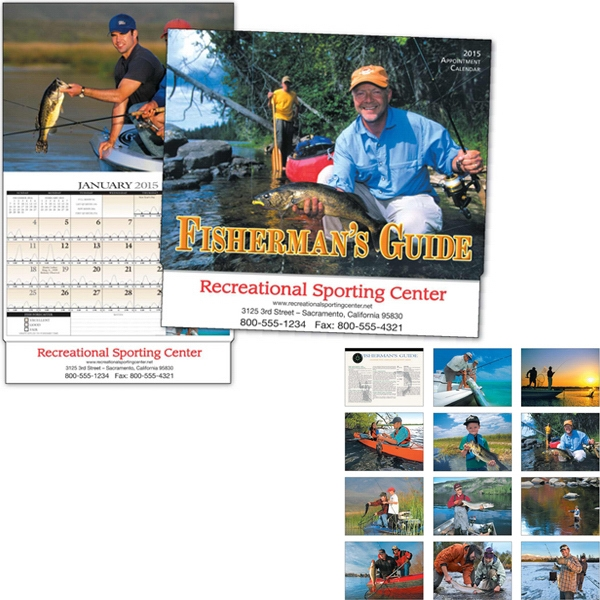 Fisherman's Guide - Appointment Calendar With Monthly Fish Activity Forecasts And Fishing Information Photo