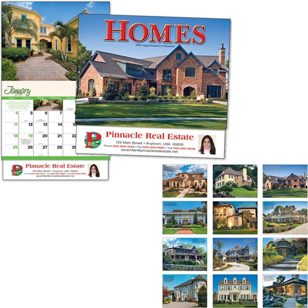 Homes - Thirteen Month Appointment Calendar With Dream Home Photos Photo